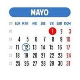 Martes 12 de mayo de 2015
