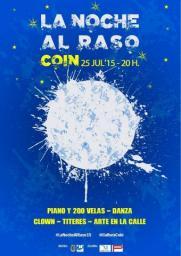 La noche al raso Coin 2015