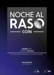 Noche al raso Coin 2016
